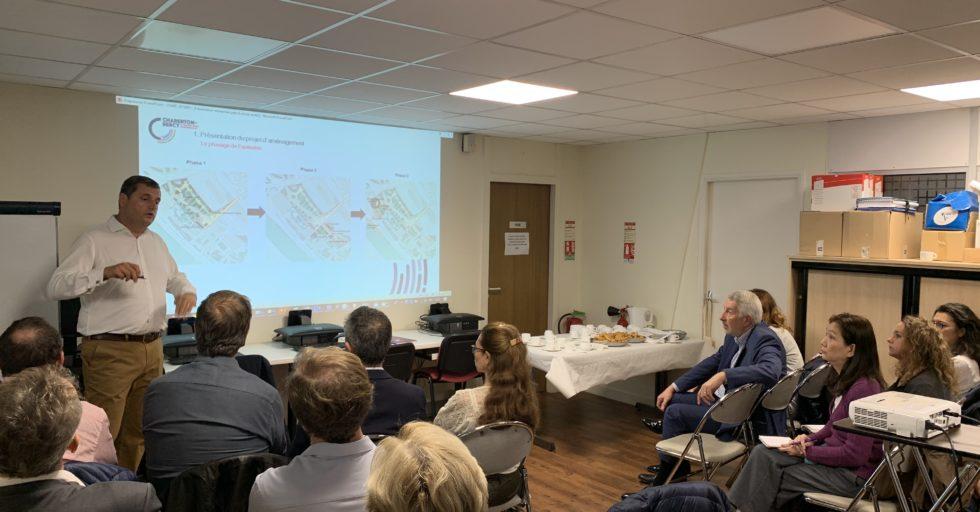 Matinale Projet Charenton-Bercy Et économie Locale
