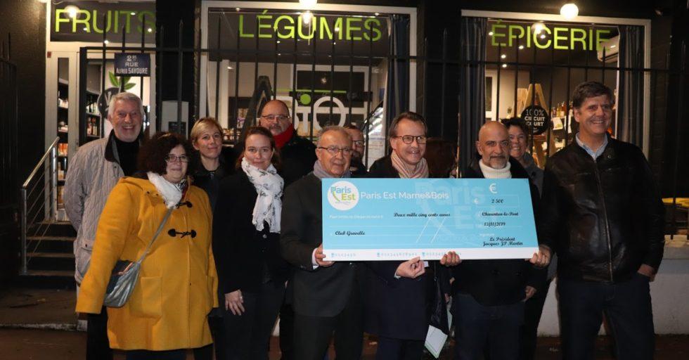 Le Club Gravelle Entreprendre Reçoit Une Subvention Du Territoire