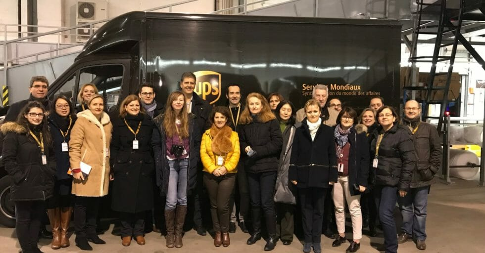 Visite D'UPS Paris